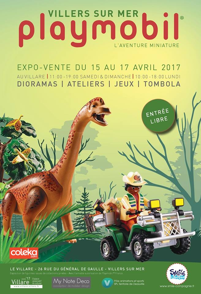 exposition playmobil en normandie