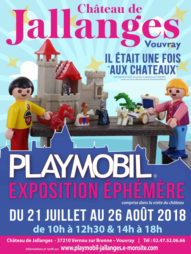 exposition playmobil au chateau de jallanges